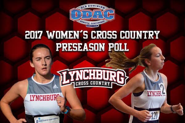 Morgan Alvis and Samantha Schreiber headline the 2017 Lynchburg women's cross country roster.
