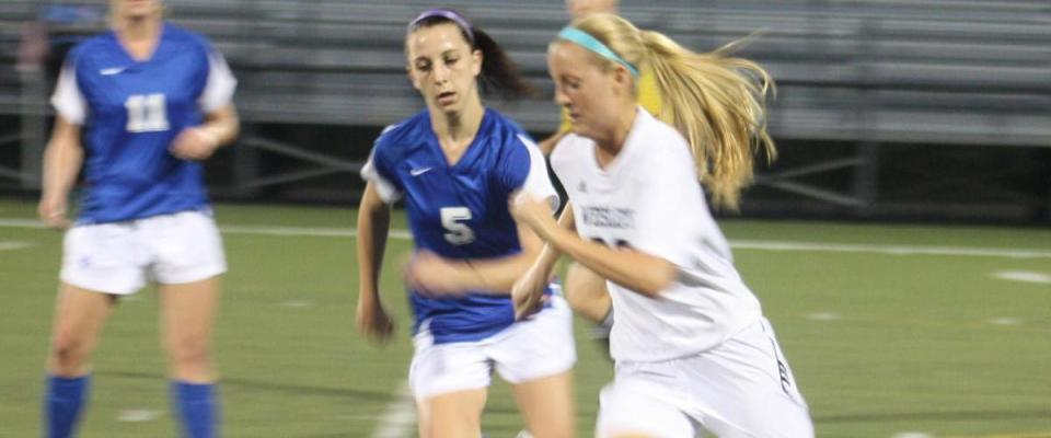 Biener Notches Hat Trick In Women's Soccer Win
