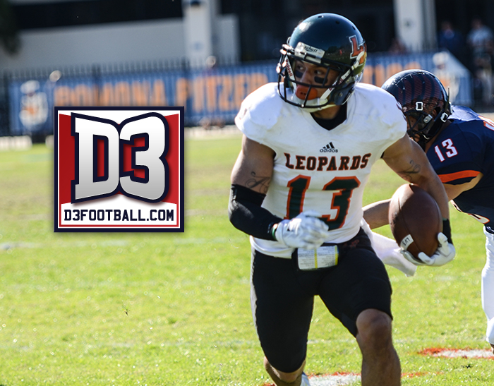 Arellano named to D3football.com Team of the Week