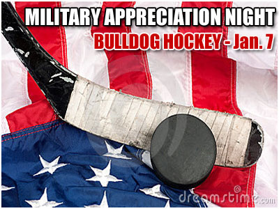 """Military Appreciation Night"" Set For Jan. 7"