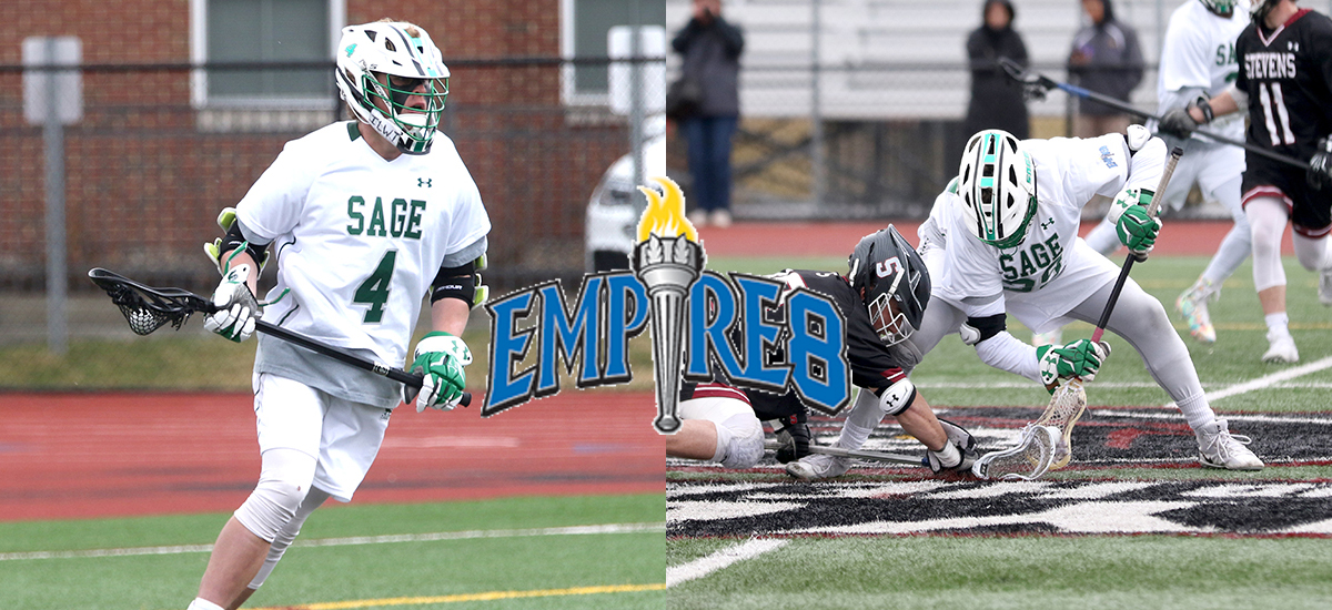 Sage men's lacrosse performers cited by Empire 8