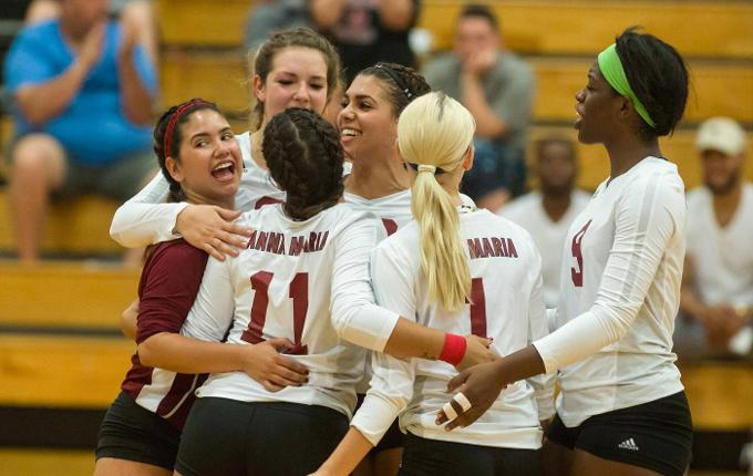 Volleyball Records First 20-Win Season with Victories over Mount Ida, Norwich