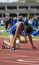 Nwaba, Powers Highlight Gaucho Performances At Azusa Multi-Events