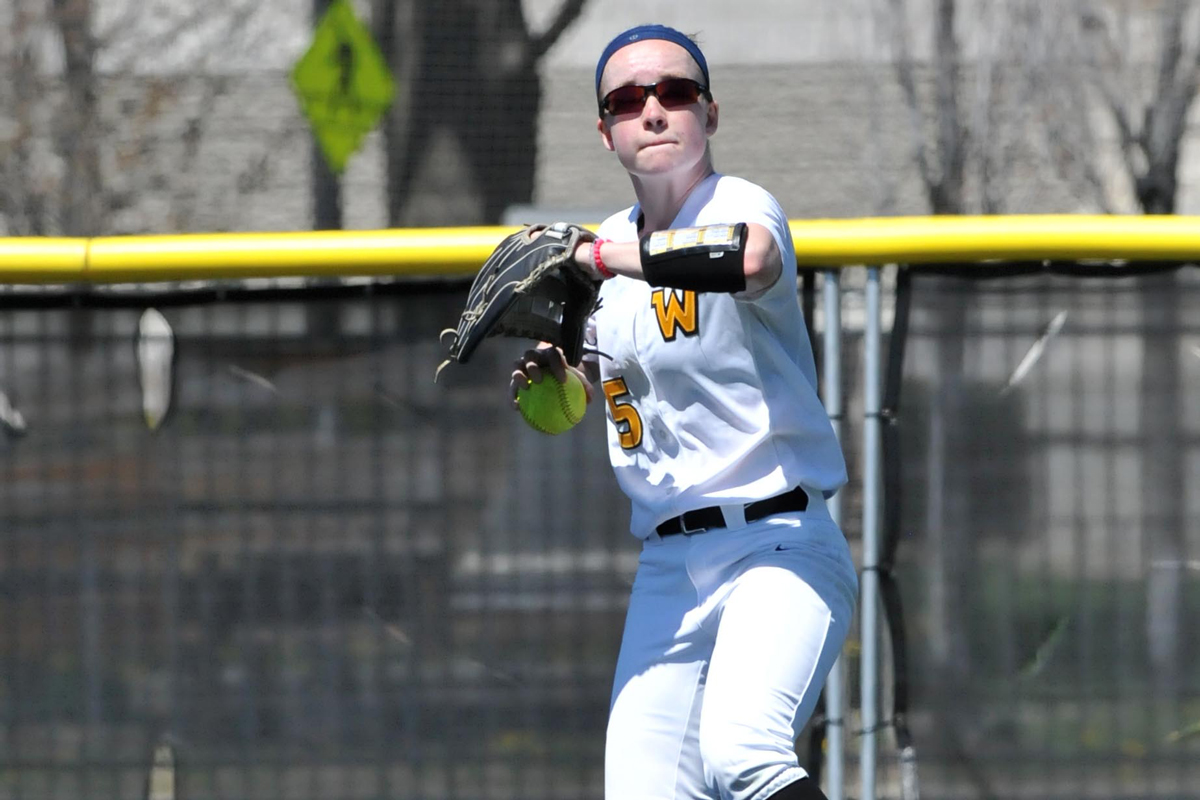 Softball Splits in Season Debut