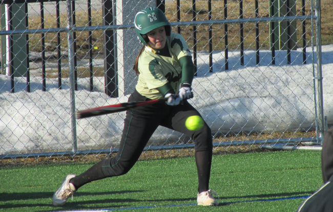 Softball Falls to Huskies in Non-Conference Action