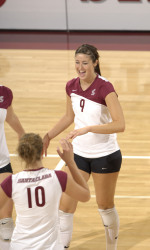 No. 22 Bronco Volleyball Falls 3-0 To No. 11 Cal