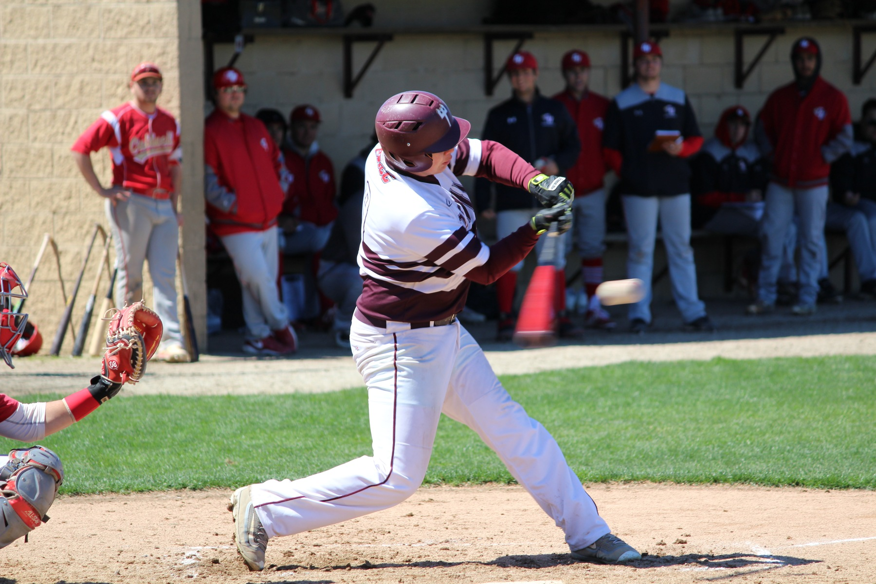 Devils Baseball Splits With Caldwell On Senior Day