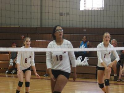 Women's Volleyball: Mustangs prevail over Bucks County Community College