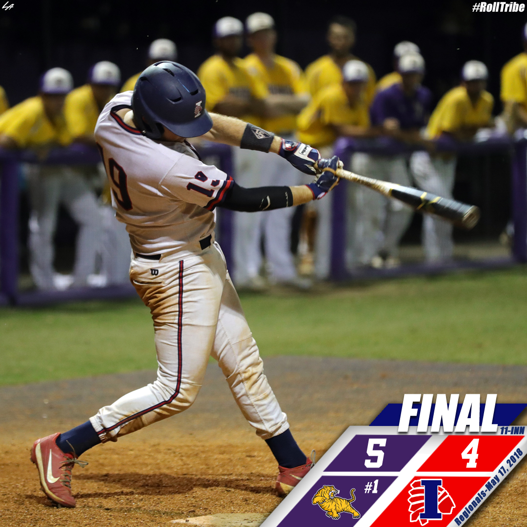 Indians take No. 1 LSU-Eunice to the limit in Region Tournament