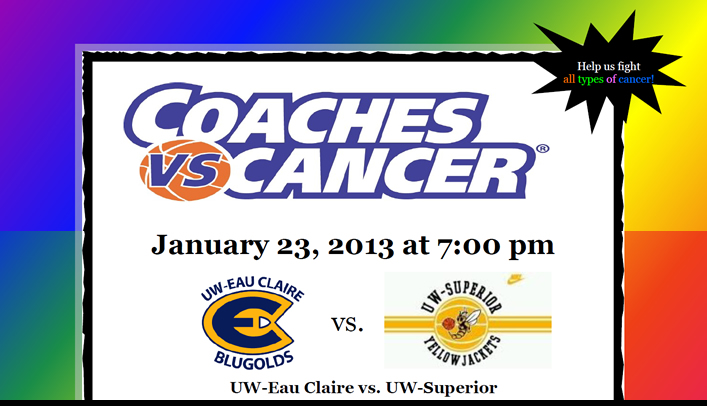 January 23, 2013 - Women's Basketball Coaches vs. Cancer Game