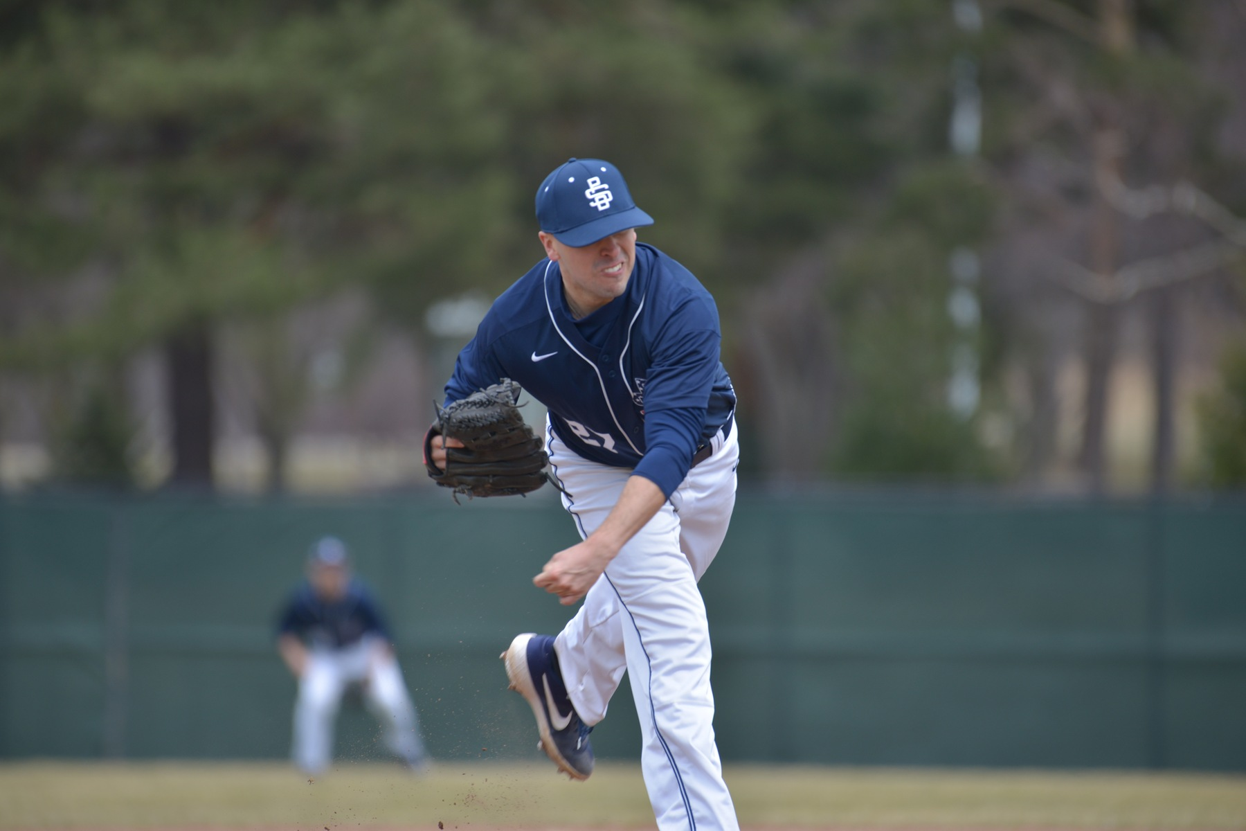 Baseball Splits With Alfred State; Lions Shut Out Pioneers in Opener
