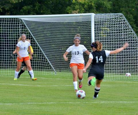 Sage Women's Soccer Squad Topples Cobleskill, 5-0