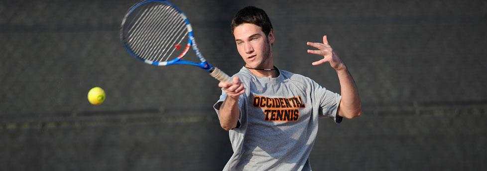 COME-FROM-BEHIND VICTORY SECURES 3-0 START FOR MEN'S TENNIS