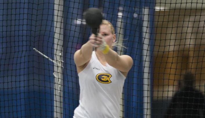 Women's Indoor Track & Field Takes Third at Eastbay Invite