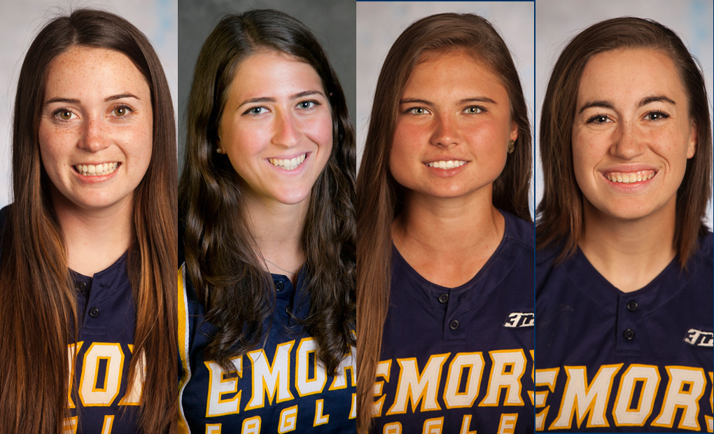Emory Softball Places Four On All-UAA Honors List