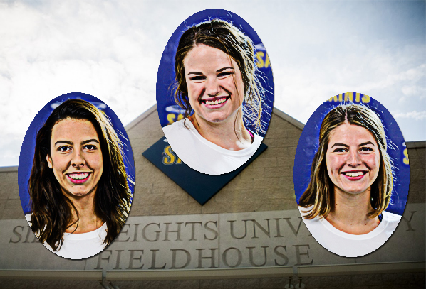3 Saints Named Scholar Athletes, Team Honored as well