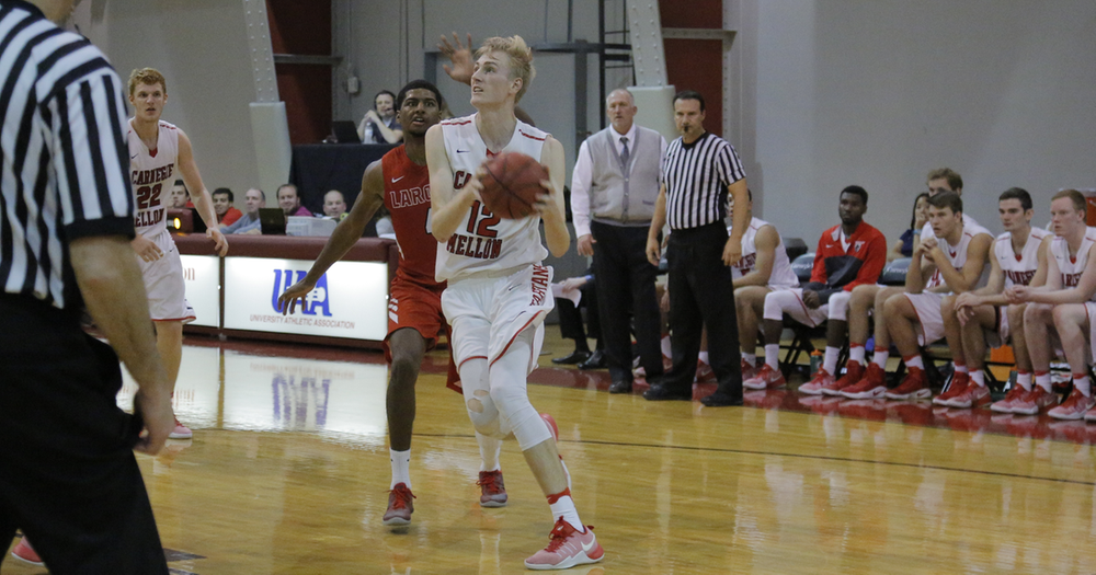 Serbin Records Fifth Double-Double in Tartans Setback at Juniata