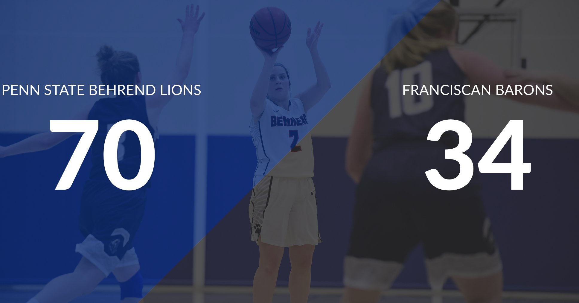Women's Basketball Defeats Franciscan