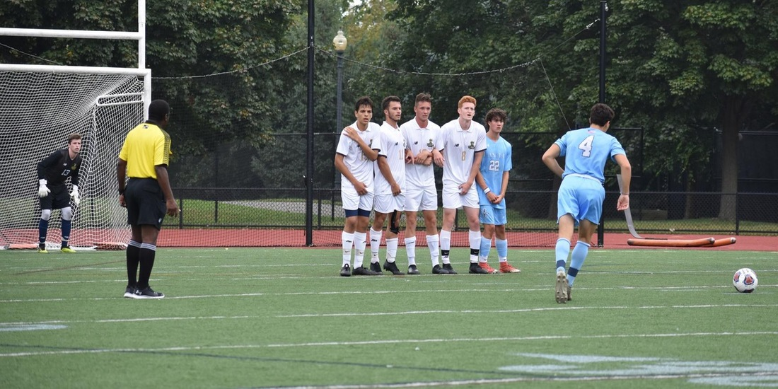 Midweek Match Sends Men's Soccer to #15/17 St. Joseph's (Maine) Wednesday