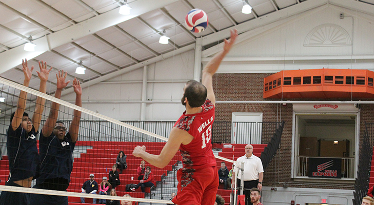 Men's Volleyball Toppled By Medaille, 3-1
