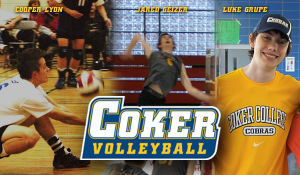 Men's Volleyball Adds Three