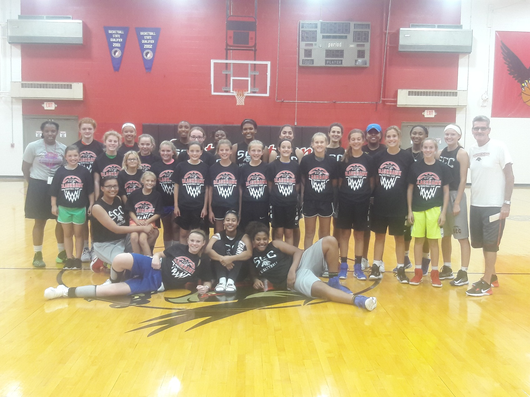 SCC Women's Basketball Camp!