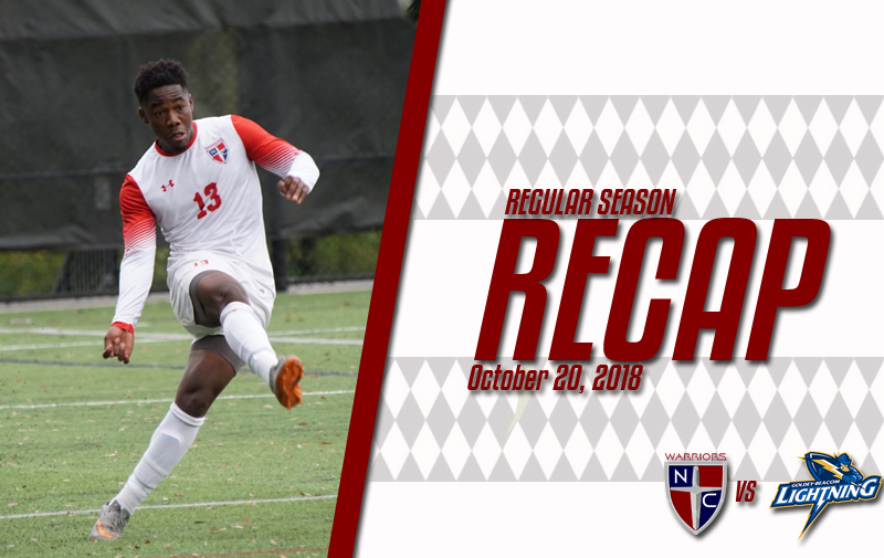 Men's Soccer Battles to a 1-1 2OT Draw with the Goldey-Beacom Lightning