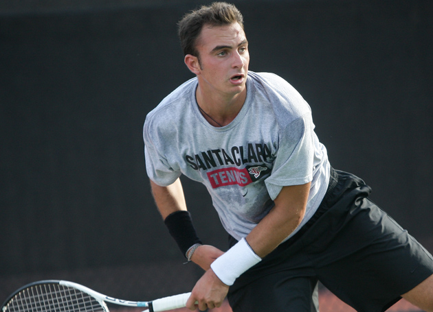 Back-To-Back WCC Matches This Weekend for SCU Men's Tennis