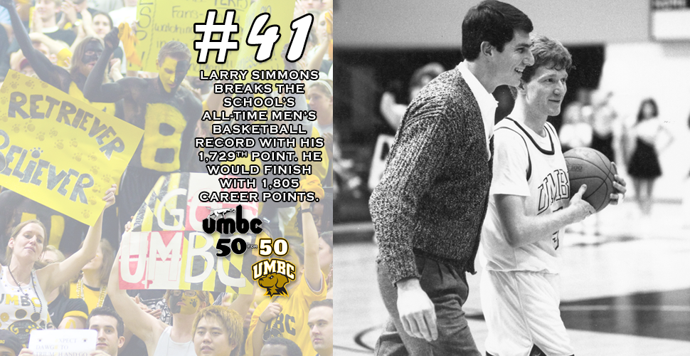 #retriever50for50 - Hoosier State Hero Sets UMBC Men's Basketball Scoring Record
