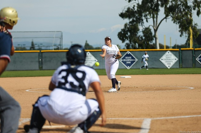 Pitcher Carly Gutierrez tossed a five-inning shutout over Glendale