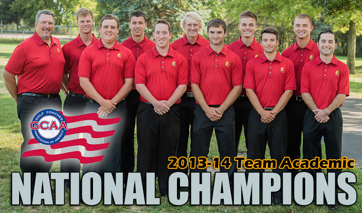 Ferris State Men's Golf Crowned As Division II Academic National Champions