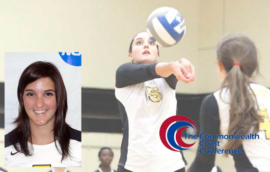 Bruton Named All-CCC