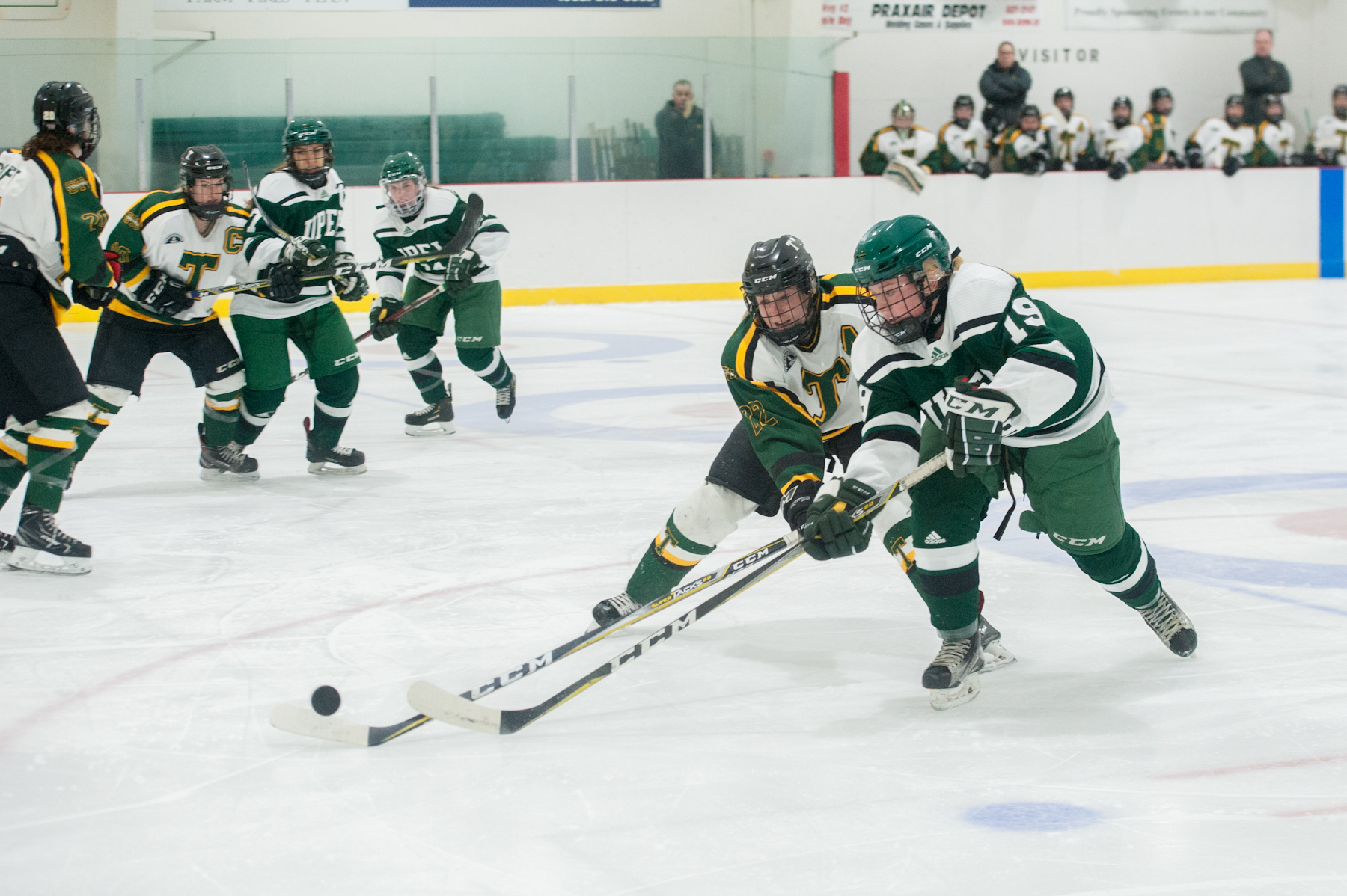 Tommies cool off UPEI in 2-0 win