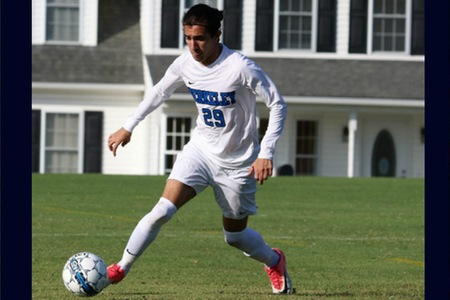 New Jersey men's soccer team relinquishes two late goals as Penn State Brandywine puts away Knights, 2-1