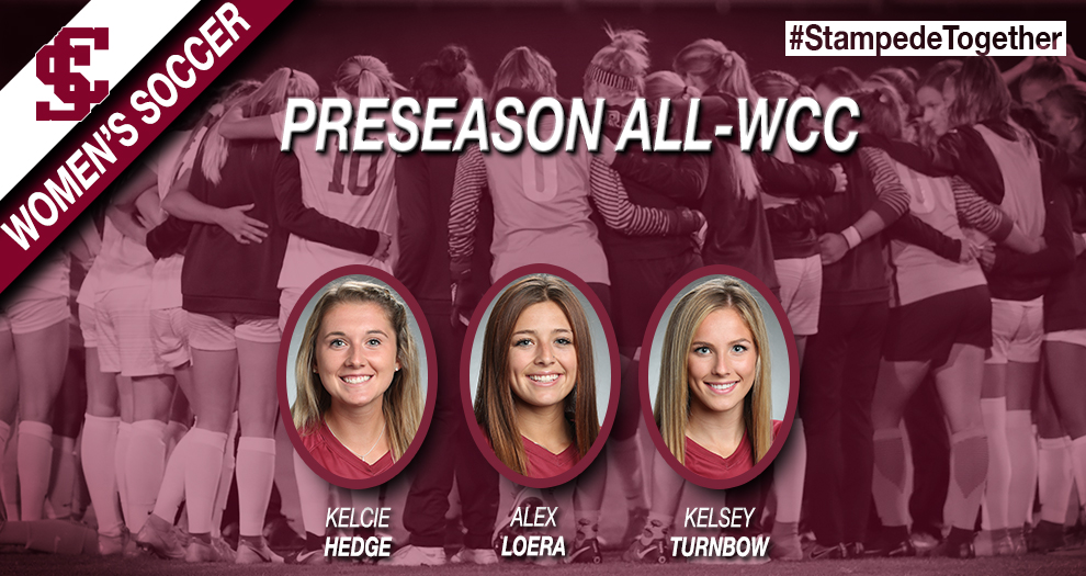 No. 13 Women's Soccer Picked as WCC Co-Favorites; Three Named Preseason All-WCC