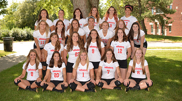 2015 Wittenberg Volleyball