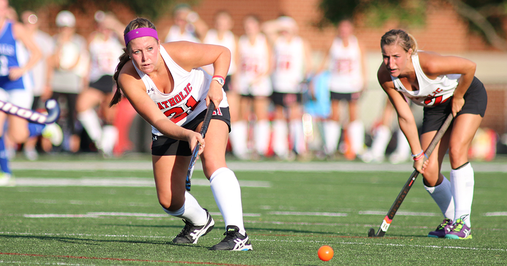 Catholic Field Hockey Blanks Goucher, 1-0