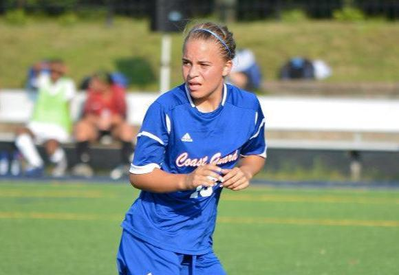 Kelly Leads Women's Soccer to First Win