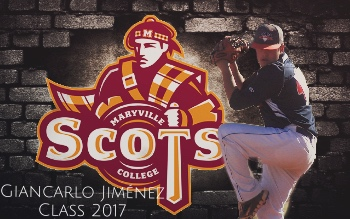 Giancarlo Jimenez commits to play college baseball at Maryville College
