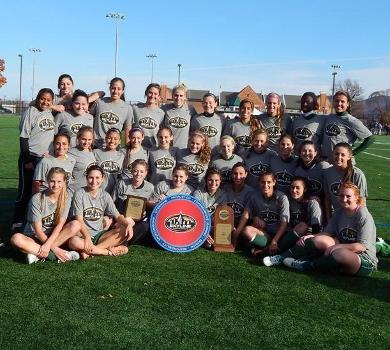Women's Soccer Captures Seventh Straight Conference Title