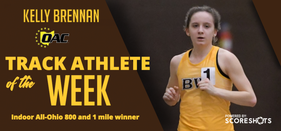 Brennan Earns Second Career OAC Track Athlete of the Week Accolade