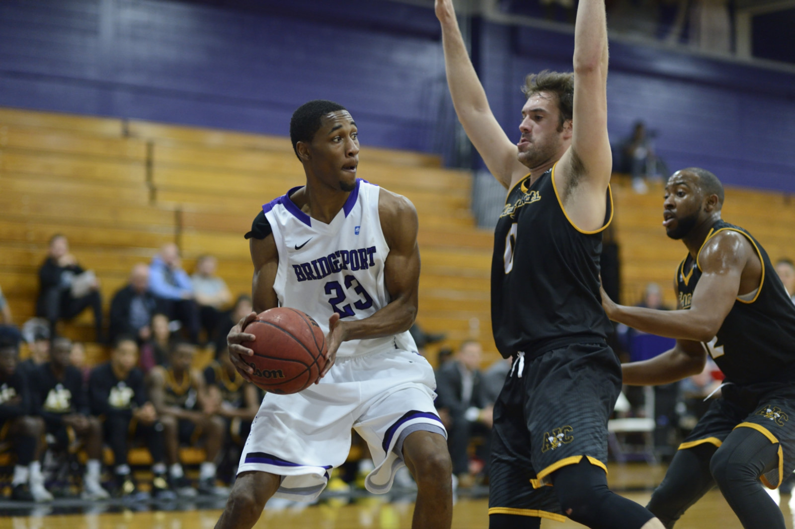 Purple Knights Now 4-2 Overall After 88-77 Men's Basketball Victory At Holy Family