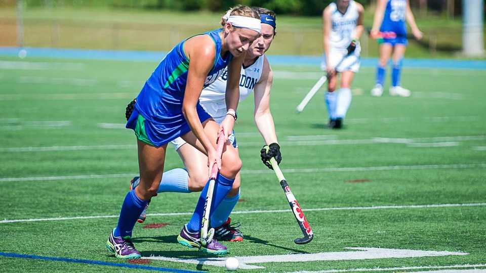 Tori Bickel scored her 13th goal of the season in a playoff loss at Beverly, Mass. (Photo by Ray Labbe)
