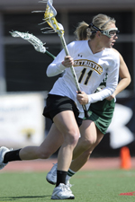 Emily Coady scored her 100th career goal vs. AU.