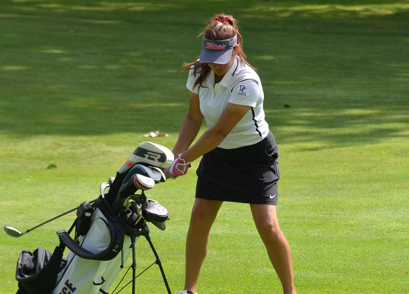 Women's Golf Competes at the Trine Kickoff Classic
