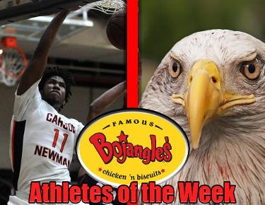 Brooks, Chapman tabbed for Bojangles Athletes of the Week