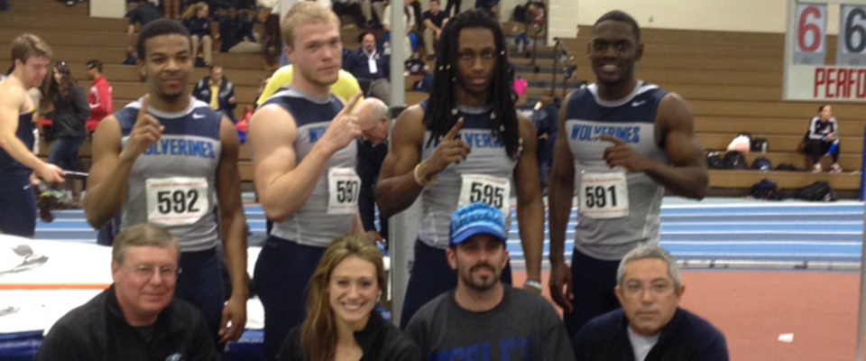 4X200 Relay Wins ECAC Crown, 4x400 Shatters CAC Mark