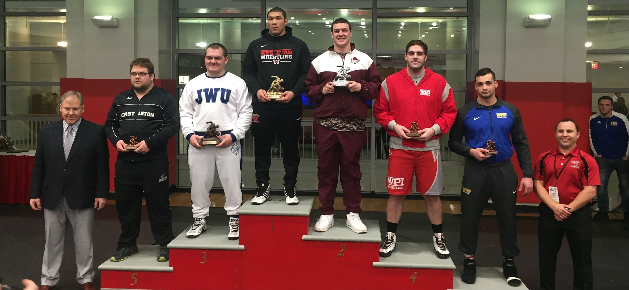 Fusco Earns Spot at NCAA Division III Championship With Runner-Up Finish at 285; Wrestling Takes 10th Overall at Regionals