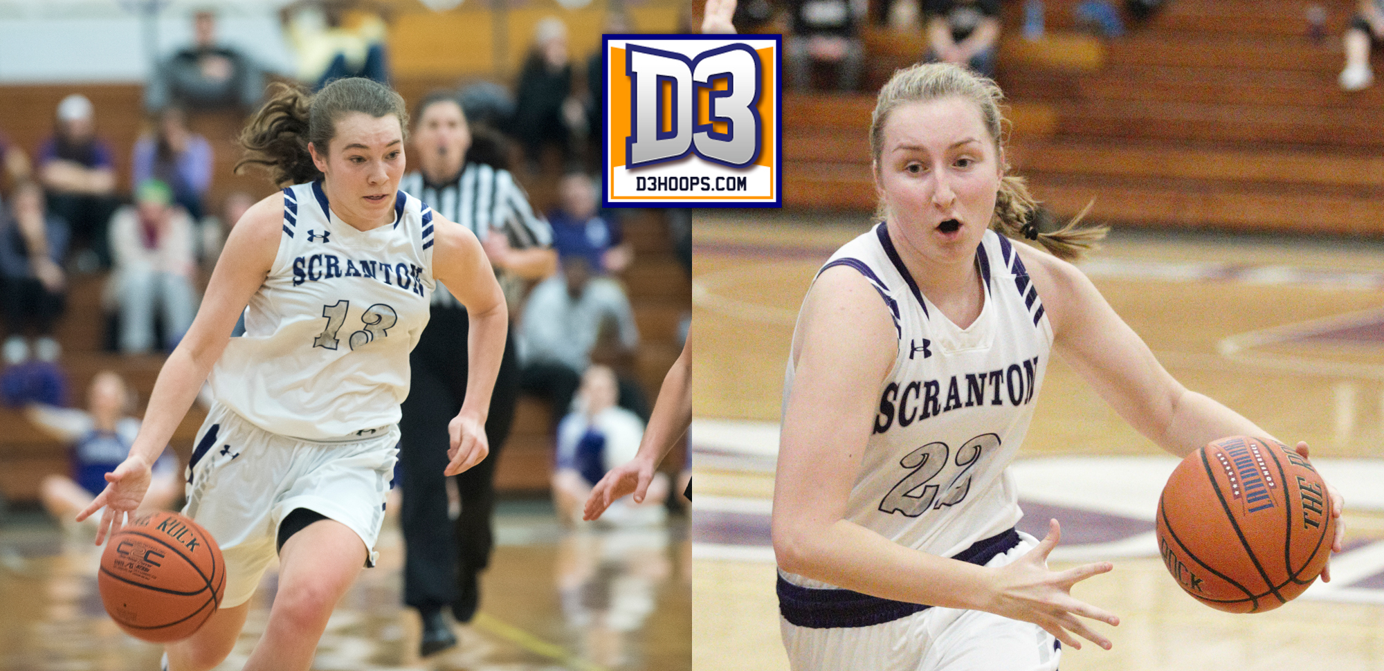 Bridgette Mann and Makenzie Mason both received All-Region honors from D3hoops.com on Tuesday.