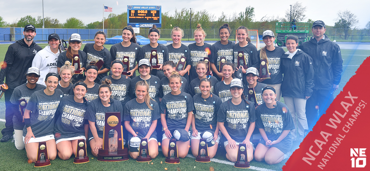 Embrace the Championship: Mission Complete! Adelphi Captures Ninth All-Time NCAA Women's Lacrosse Title